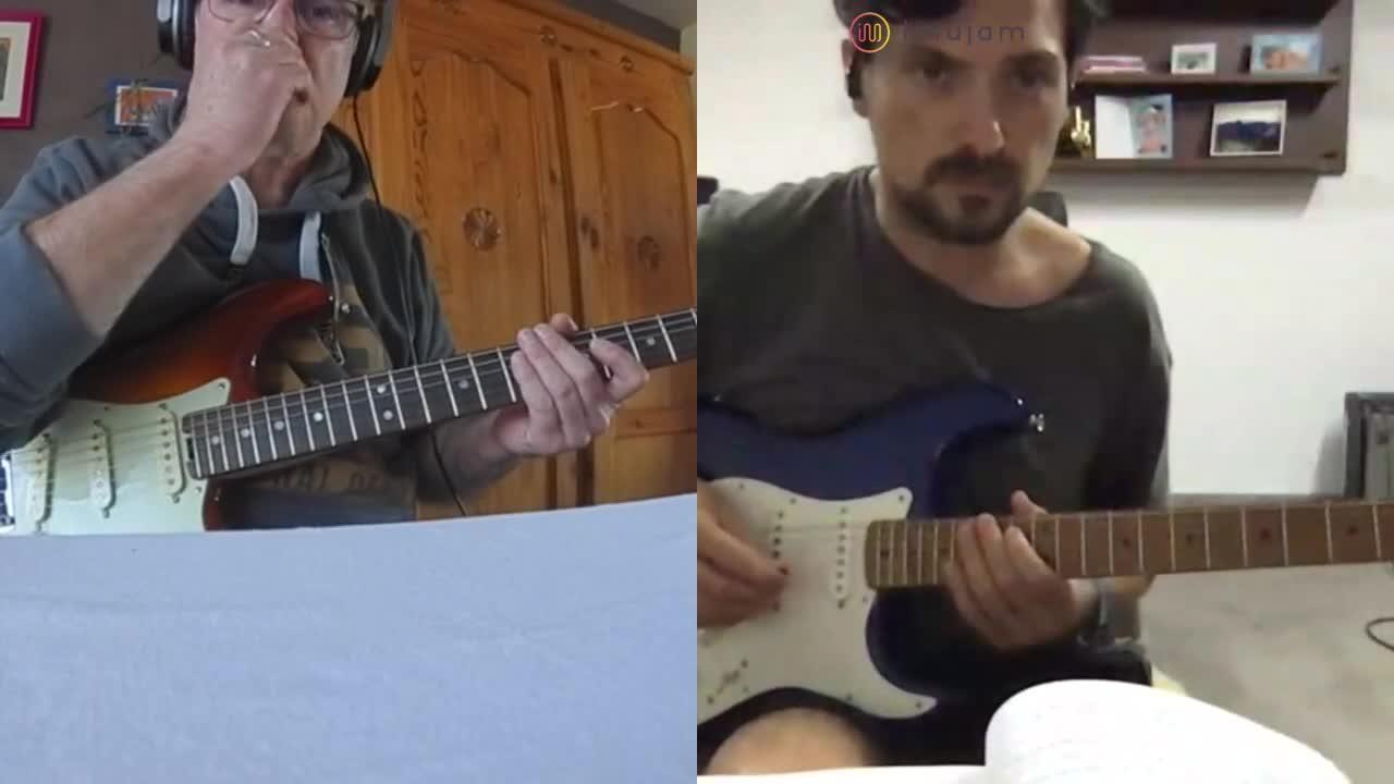 Blues en La