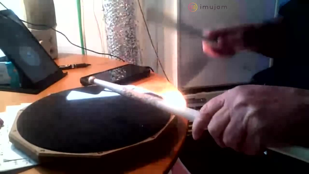 single paradiddles 100 bpm